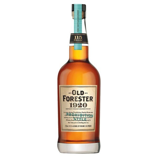 Old Forester 1920 Prohibition Style Whisky - Available at Wooden Cork