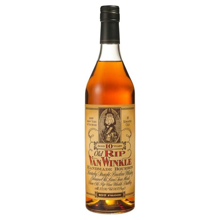 Old Rip Van Winkle 10 Year Bourbon - Available at Wooden Cork