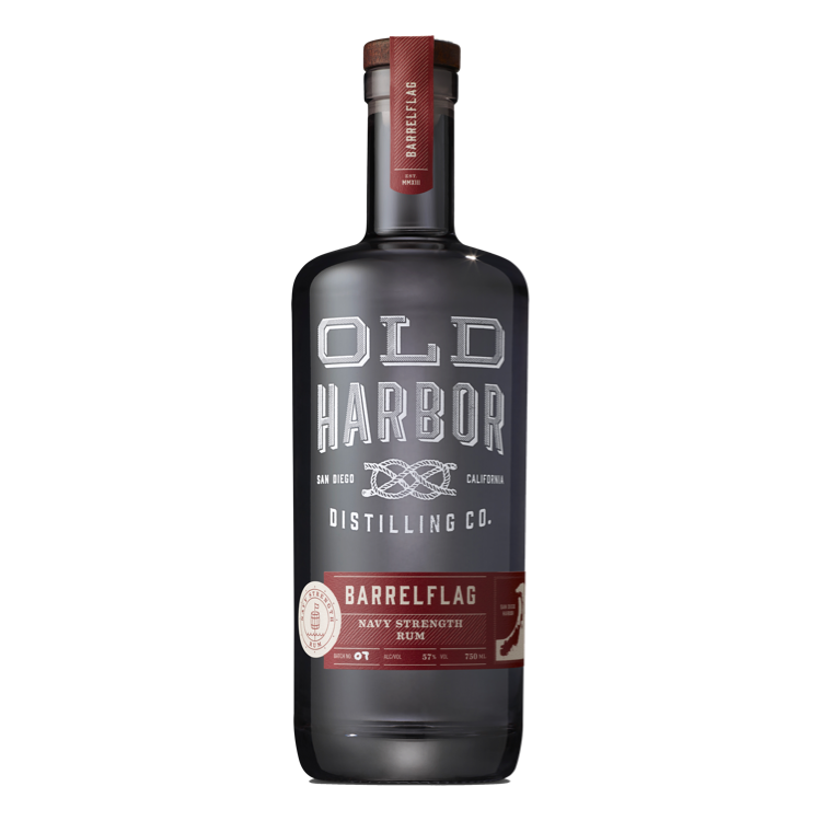 Old Harbor Barrelflag Navy Strength Rum - Available at Wooden Cork