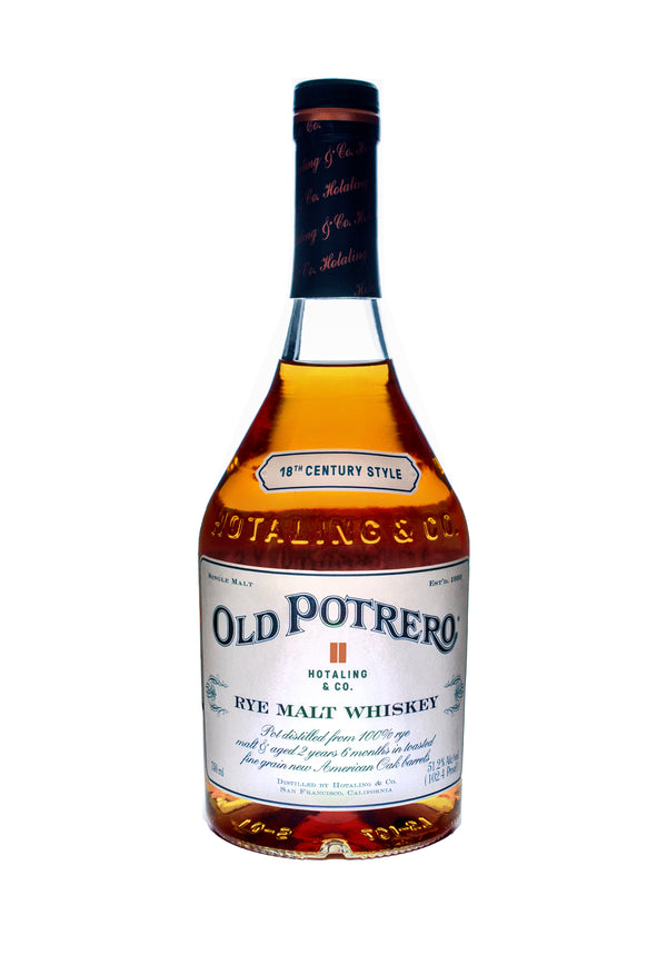 Old Potrero 18th Century Style Whiskwy - Available at Wooden Cork