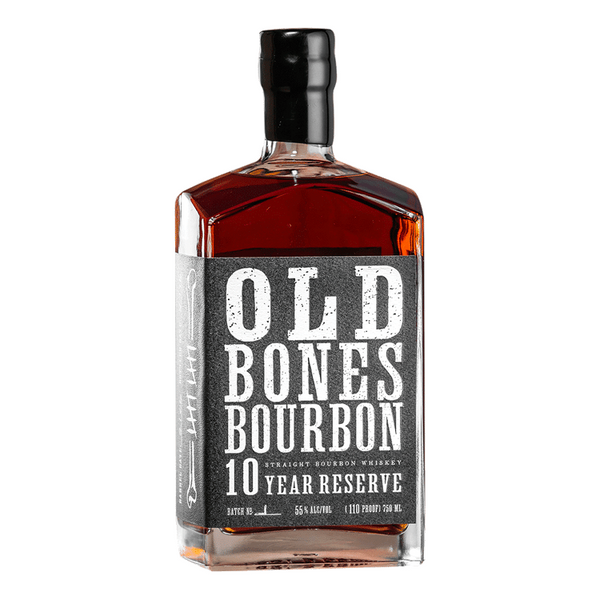 Old Bones Bourbon 10 Year Reserve - Available at Wooden Cork