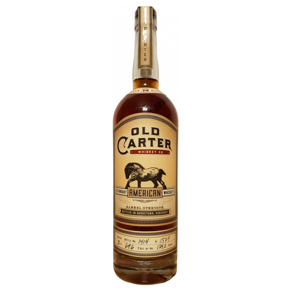 Old Carter 12 Year Old Straight Kentucky Bourbon Batch #4  Old Carter