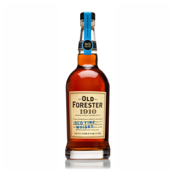 "Old Forester 1910 ""Old Fine Whiskey"" Bourbon Whiskey - Available at Wooden Cork"