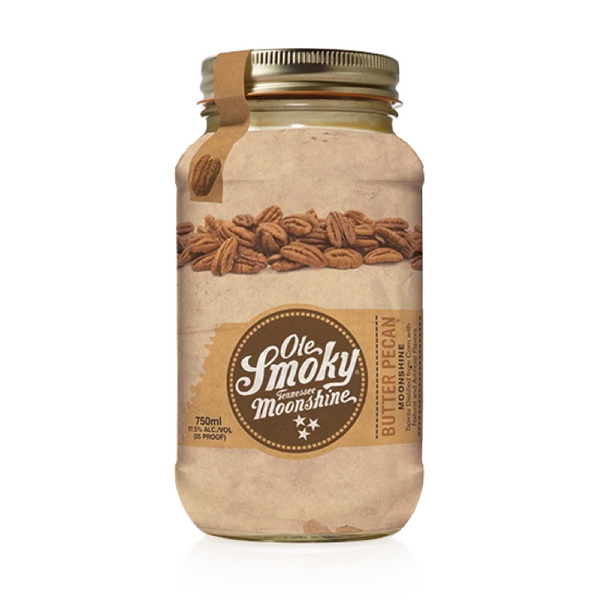 Ole Smoky Butter Pecan Moonshine - Available at Wooden Cork