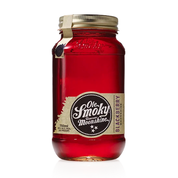 Ole Smoky Blackberry Moonshine - Available at Wooden Cork