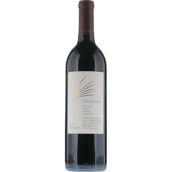 Overture Red Blend by Opus One - Available at Wooden Cork