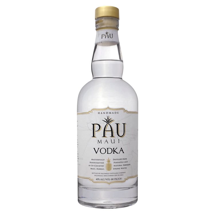 PAU Maui Vodka - Available at Wooden Cork