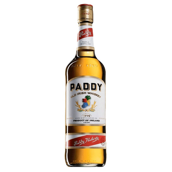 Paddy's Irish Whiskey - Available at Wooden Cork