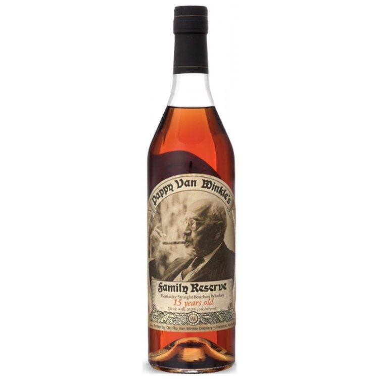 Pappy Van Winkle 15 Year Bourbon - Available at Wooden Cork