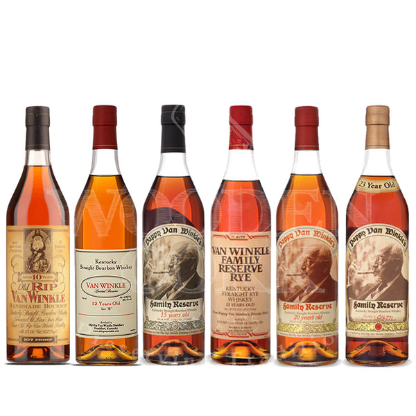Pappy Van Winkle's Family Lineup Collection Bundle - Available at Wooden Cork