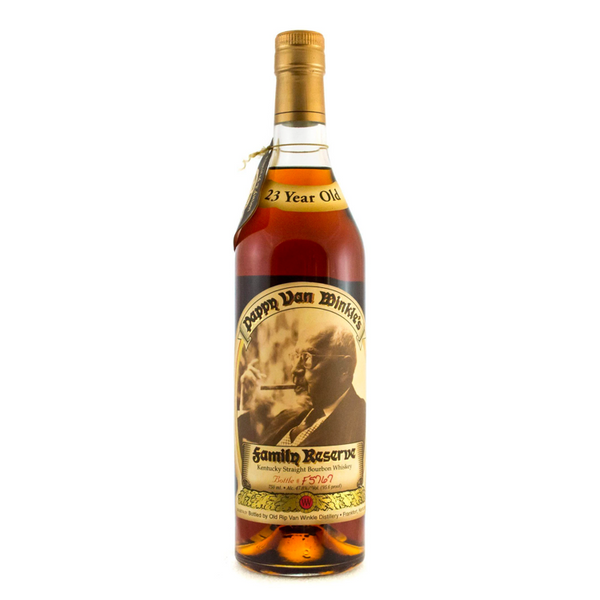 Pappy Van Winkle's Family Reserve 23 Years Old - Available at Wooden Cork