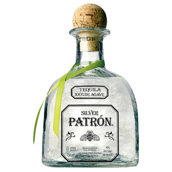 Patron Silver Tequila - Available at Wooden Cork
