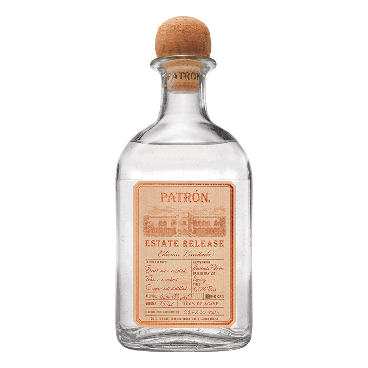 Patron Estate Release Silver Tequila - Available at Wooden Cork