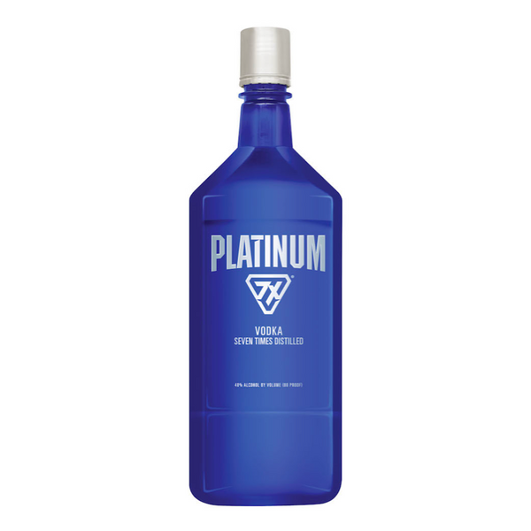 Platinum 7X Vodka 1.75L - Available at Wooden Cork