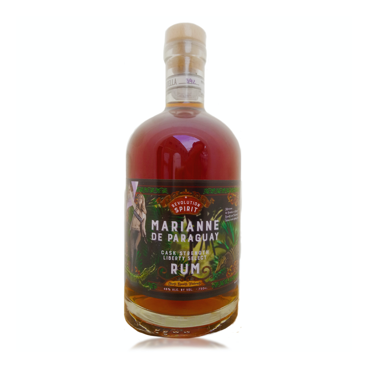 Marianne de Paraguay Cask Strength Rum - Available at Wooden Cork