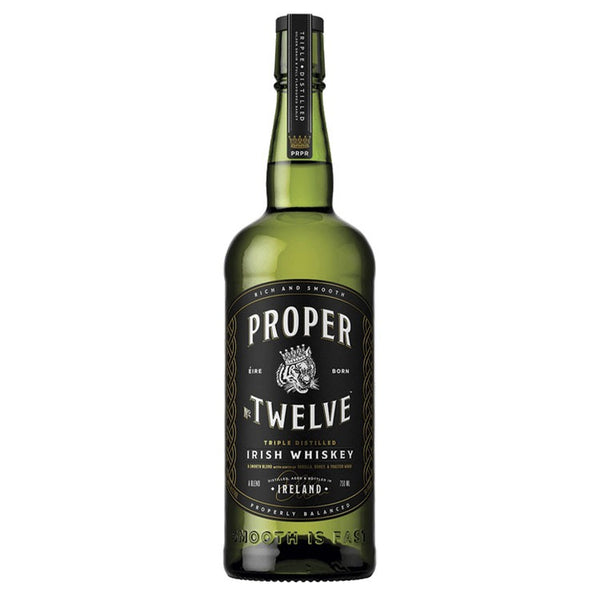 Proper Twelve Irish Whiskey - Available at Wooden Cork