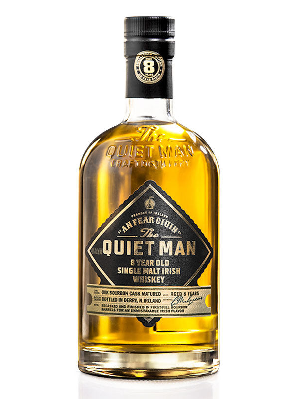 Quiet Man 8 year Single Malt Irish Whiskey - Available at Wooden Cork
