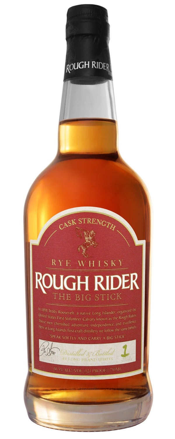 Rough Rider Rye The Big Stick CS - Available at Wooden Cork