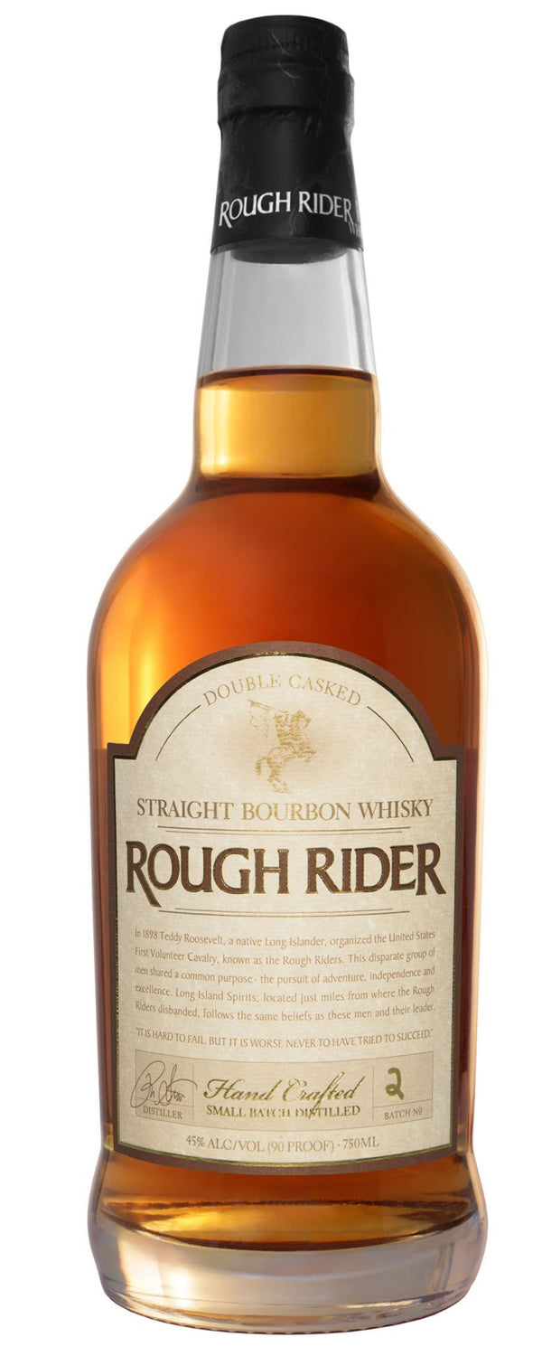 Rough Rider Straight Bourbon Dbl Csk - Available at Wooden Cork