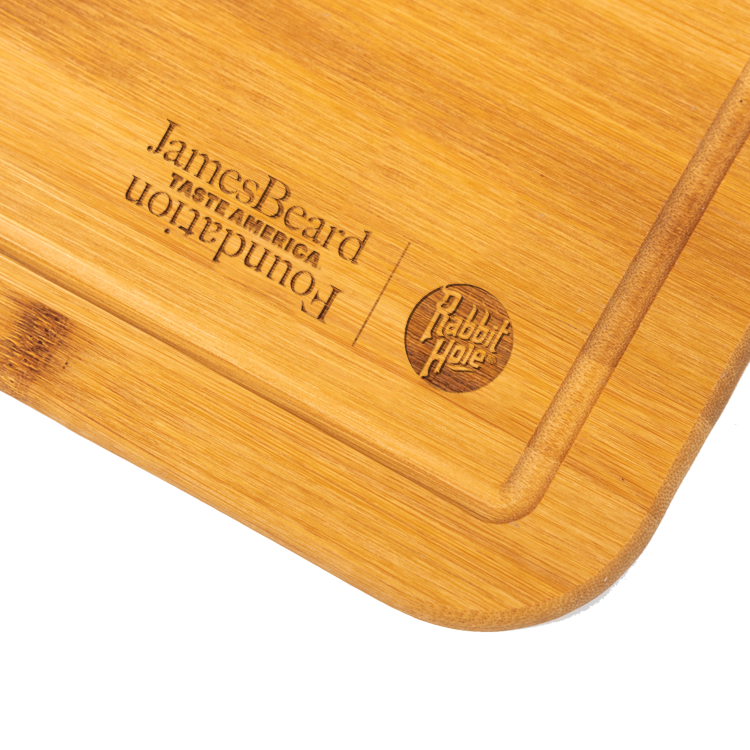 Rabbit Hole x James Beard Foundation Cutting Board - Available at Wooden Cork