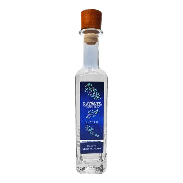 Razones Blanco Tequila - Available at Wooden Cork