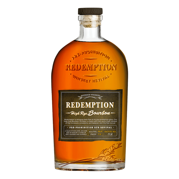Redemption High Rye Bourbon - Available at Wooden Cork