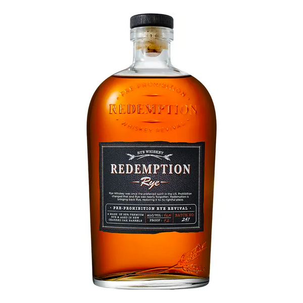 Redemption Rye - Available at Wooden Cork
