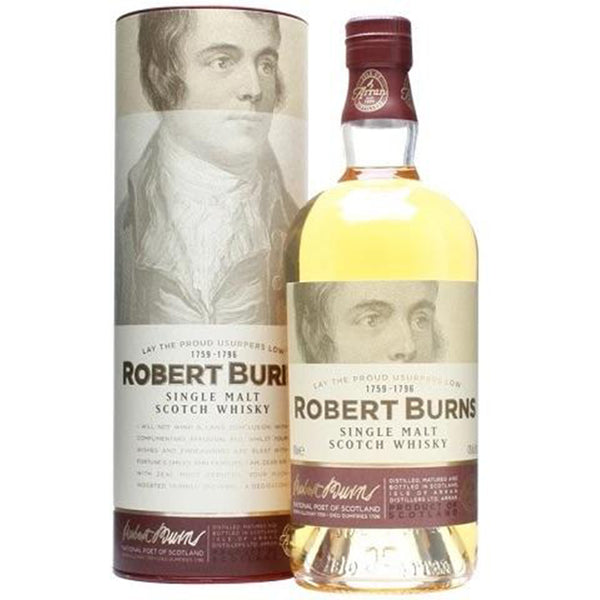 Arran Robert Burns Single Malt 750mL - Available at Wooden Cork