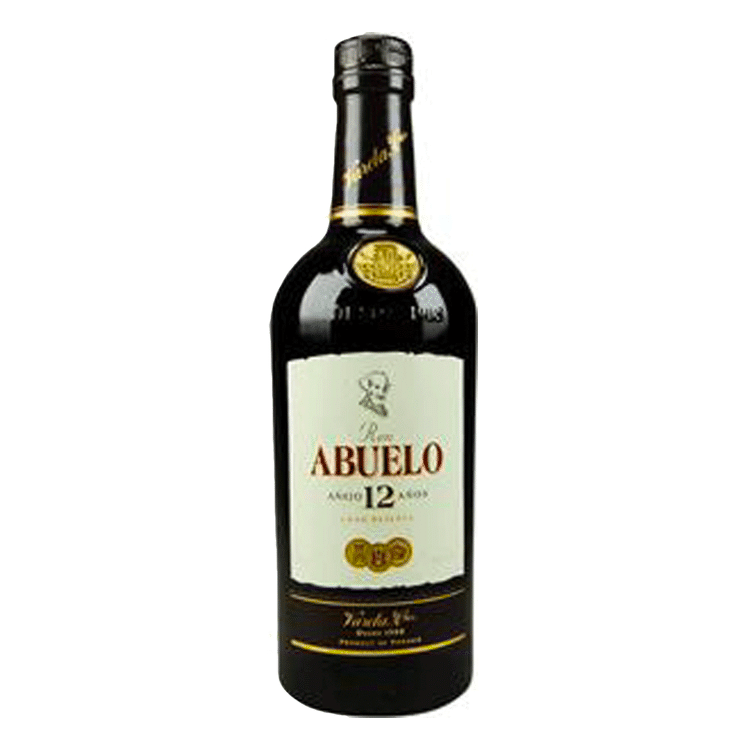 Ron Abuelo Anejo 12 Year Rum - Available at Wooden Cork