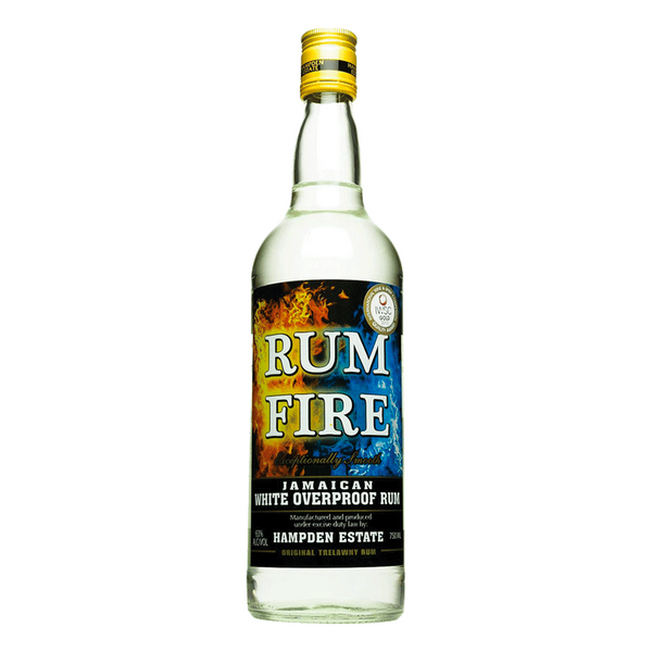 Rum Fire White Overproof Jamaican Rum - Available at Wooden Cork