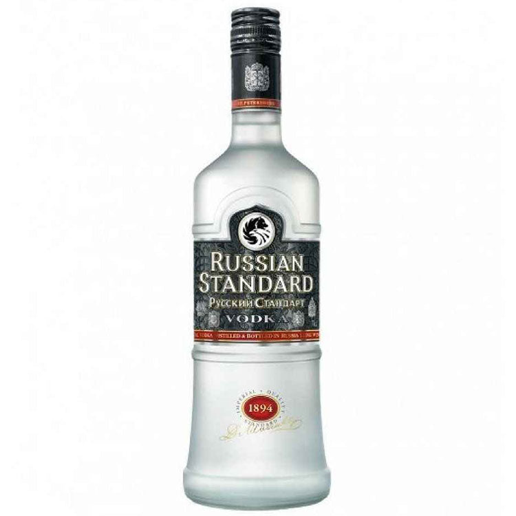 Russian Standard Vodka - Available at Wooden Cork