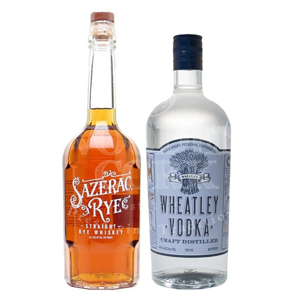 Sazerac Rye & Wheatley Vodka Bundle - Available at Wooden Cork
