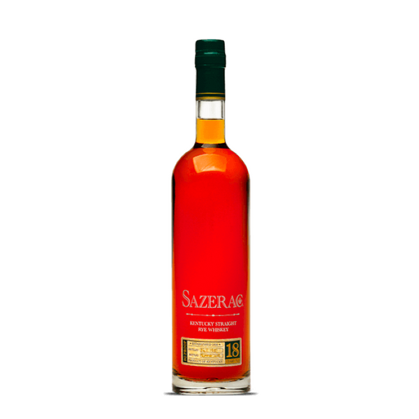Sazerac Rye Whiskey 18 Year - 2018 - Available at Wooden Cork