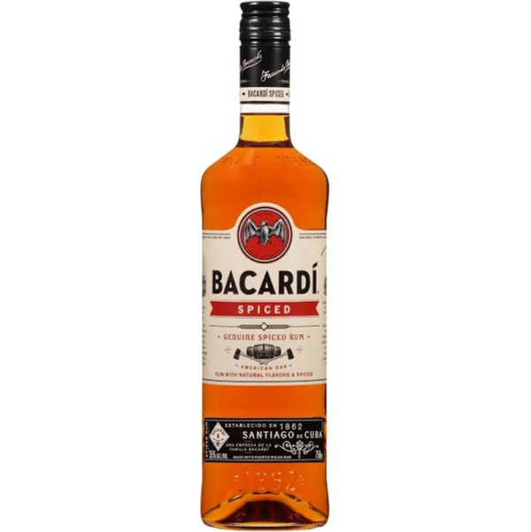 Bacardi Spiced Rum - Available at Wooden Cork