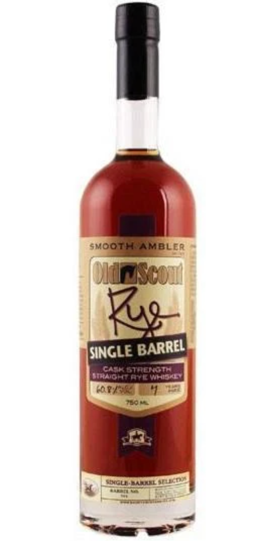 Smooth Ambler Old Scout Single Barrel Rye - Available at Wooden Cork