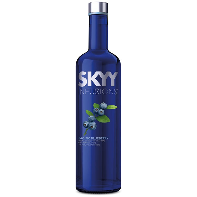 SKYY Vodka Infusion Pacific Blueberry  by SKYY