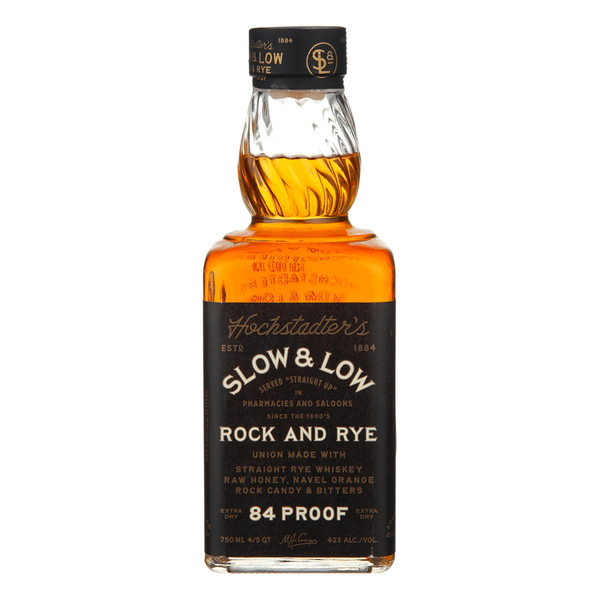 Slow & Low Rye Whiskey - Available at Wooden Cork