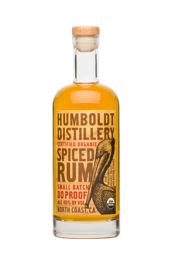 Humboldt Distillery Spiced Rum - Available at Wooden Cork