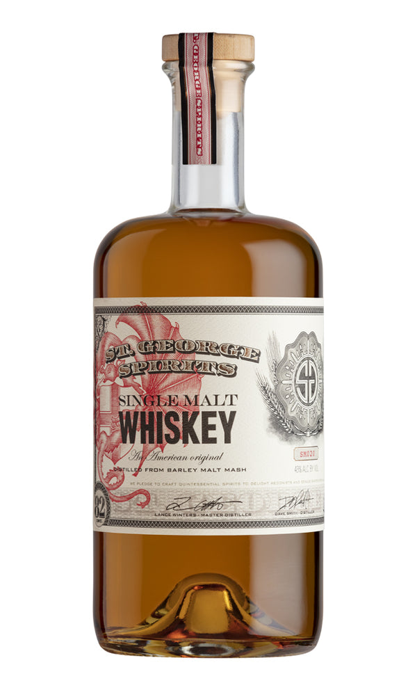 St. George Spirits Single Malt Whiskey Lot 20 - Available at Wooden Cork