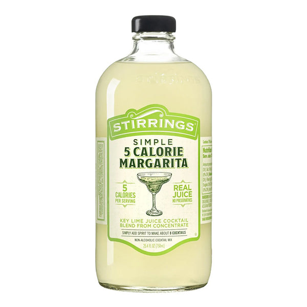 Stirrings 5 Calorie Margarita Mix - Available at Wooden Cork