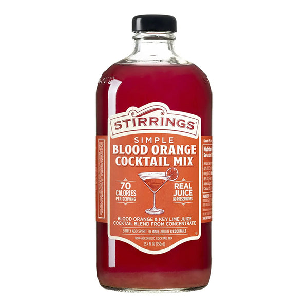 Stirrings Blood Orange Martini Mixers - Available at Wooden Cork