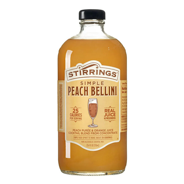 Stirrings Peach Bellini Mix - Available at Wooden Cork