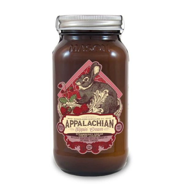 Sugarlands Appalachian Strawberry Dream Sippin Cream - Available at Wooden Cork