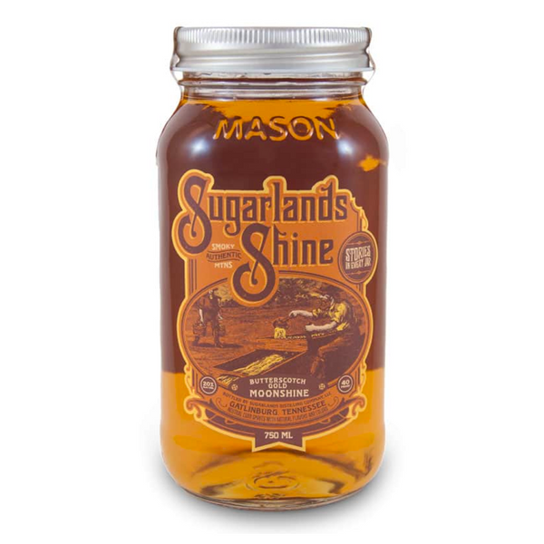 Sugarlands Shine Butterscotch Gold Moonshine - Available at Wooden Cork