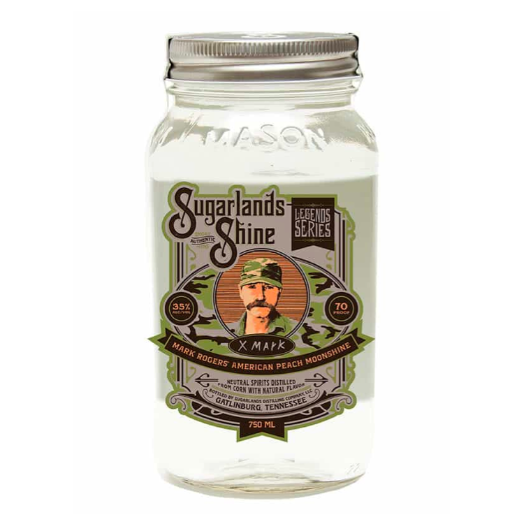Sugarlands Shine Mark Rogers Peach Moonshine - Available at Wooden Cork