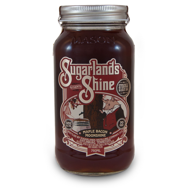 Sugarlands Shine Maple Bacon Moonshine - Available at Wooden Cork