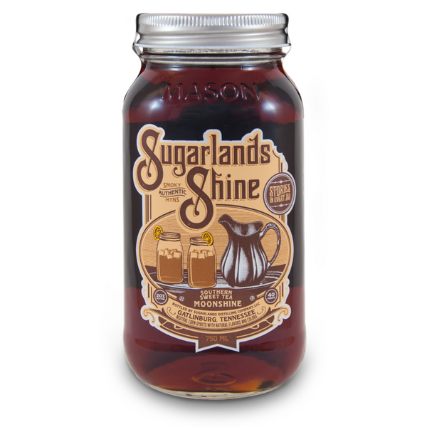 Sugarlands Shine Southern Sweet Tea Moonshine - Available at Wooden Cork