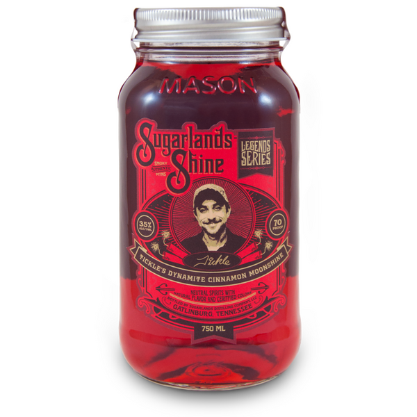 Sugarlands Shine Tickle's Dynamite Cinnamon Moonshine - Available at Wooden Cork