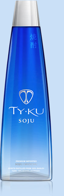 TY KU Soju - Available at Wooden Cork