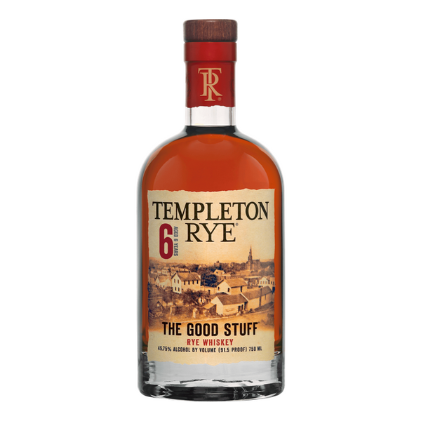 Templeton Rye 6 Year Old - Available at Wooden Cork